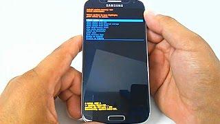 Samsung Galaxy S4 GT-I9500, I9505, I9515, Hard Reset, Como formatar  Desbloquear, Restaurar