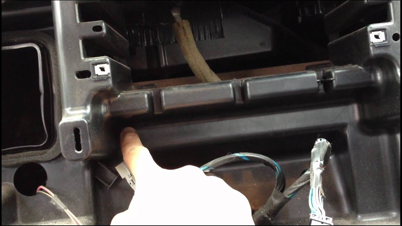 Dodge Ram Double DIN install dash kit YouTube