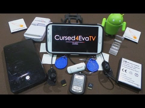 Best Galaxy Note 2 Accessories - Batteries, Cases, Screen Protectors & USB OTG - Part 1 - Cursed4Eva