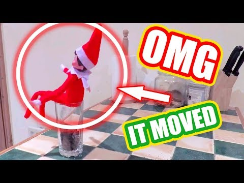 TOP 5 ELF ON THE SHELF VIDEOS 🎄Caught moving on camera OMG!!!🎄Ep 3 Christmas 2018