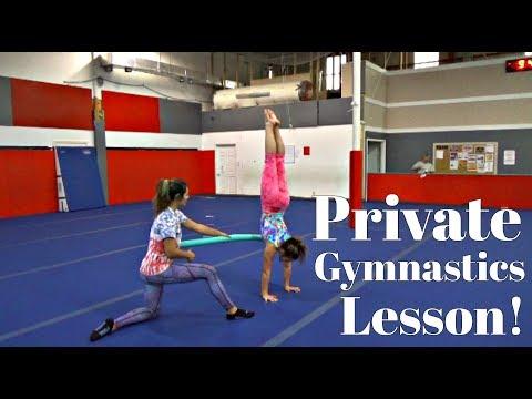 Hot adult gymnastics lessons encanta como
