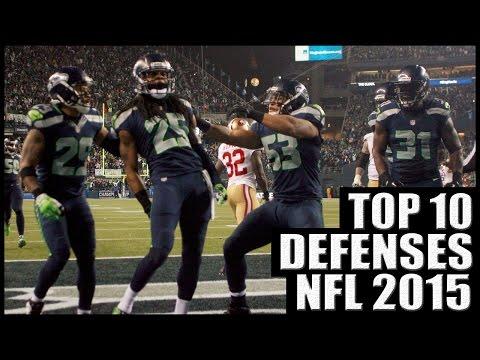 Top 10 Best Defenses in the NFL 2015