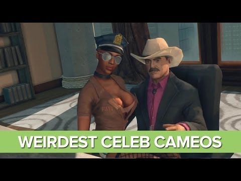The 9 Weirdest Celebrity Cameos in Games