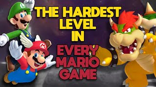 The Hardest Level in Every Mario Game