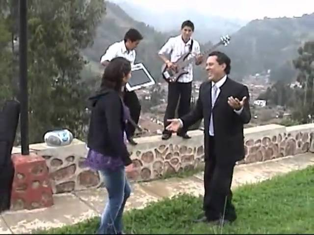 Desde Pomabamba : César Bolo Diestra : Vas ha Llorar - Mala Cara - Mi vaca.
