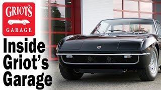 Inside Griot's Garage: Lamborghini Islero prepped for Amelia Island Concours