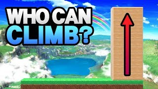 Who Can Climb THE WALL In Smash Ultimate?
