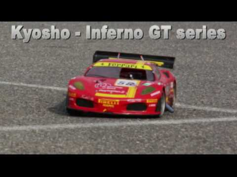 Inferno GT and GT2 cars from Kyosho!