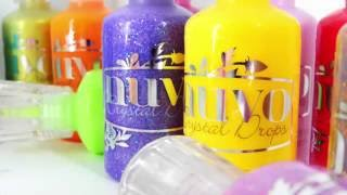 How To: Nuvo Crystal & Glitter Drops