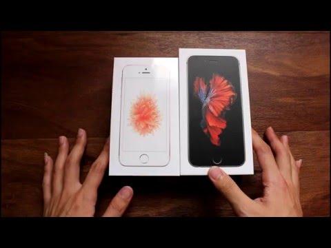 iPhone SE Rose Gold 玫瑰金 16G 開箱!!!