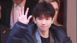 "〖TFBOYS-王源〗ROY WANG 《 2019.02.14  His smile... 王源出席柏林 ""地久天长"" 》『 王源 』"