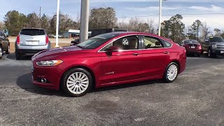 2015 Ford Fusion Hybrid Haveloc, Emerald Isle, Beaufort, Newport, Morehead City, NC P4492A