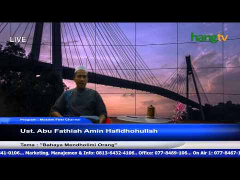 Program Muslim First Channel Ust. Abu Fathiah Amin