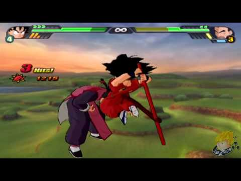 Dragon Ball Z Budokai Tenkaichi 3 - Story Mode Kid Goku Vs Mercenary Tao (Part 42) 【HD】