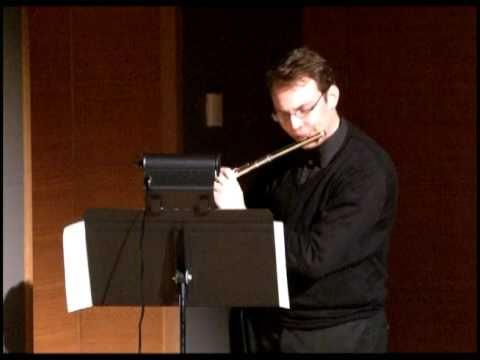 Daniel Sharp Takemitsu's Voice for solo flutist