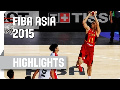 Singapore v China - Group C - Game Highlights - 2015 FIBA Asia Championship