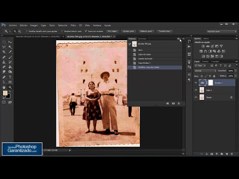 Como Aumentar Calidad y Recuperar Fotografias Antiguas - Tutorial de Photoshop