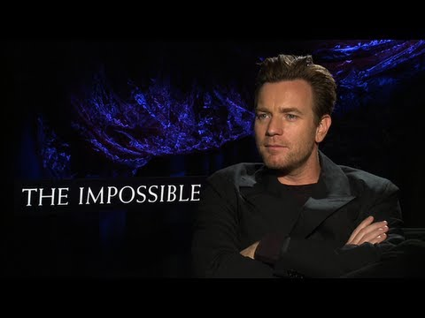 Ewan McGregor Talks The Impossible and Gratitude to Angelina Jolie