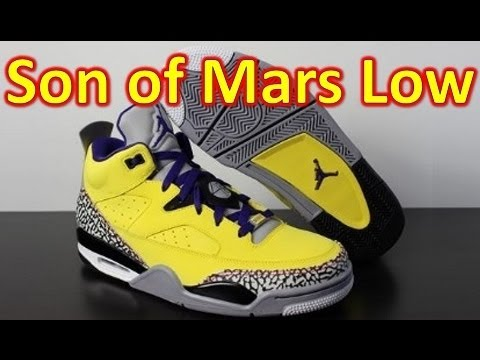 Jordan Son of Mars Low Tour Yellow - Review + On Feet