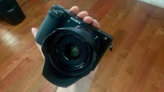 Upgrading to a Sony A6500 w/35mm Prime Lens!