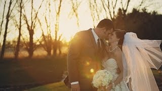 Pear Tree Estate wedding {Champaign, Illinois wedding video}