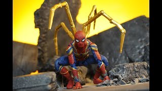 Bandai S.H. Figuarts Avengers Infinity War Movie Iron Spider-Man Action Figure Review