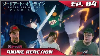 Anime Reaction: Sword Art Online: Alicization Ep. 04