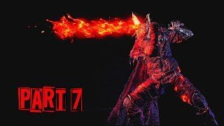 Dark Souls 3 + DLC  - 100% Walkthrough No Commentary - Part 7: Curse Rotted Greatwood