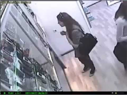 A Girl Stealing Mobile Phone.mp4 video