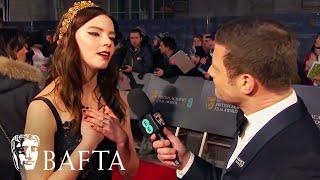 Anya Taylor Joy Loves The Shape of Water | Red Carpet Interview | EE BAFTA Film Awards 2018