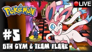 Pokemon Y 3DS - Pokemon X & Y Livestream Part 5