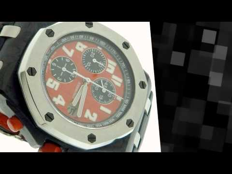 Audemars Piguet Royal Oak Offshore Singapore Grand Prix Carbon Watch