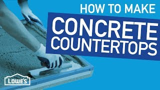 (4.88 MB) How To Make Concrete Countertops | Beyond The Basics Mp3