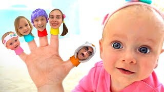 Finger Family Song +More Nursery Rhymes & Kids Songs