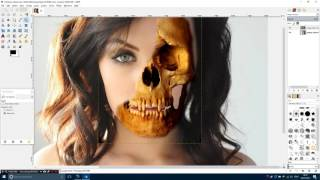 skull face gimp tutorial