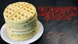 Stranger Things Eleven Eggo Waffles Recipe   How Tasty Channel