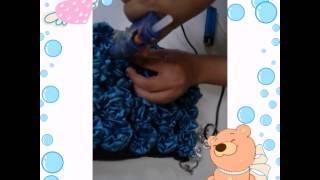 cara membuat tas dari kain flanel dan kain satin