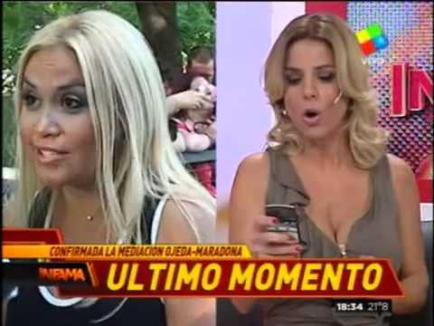 ¿Maradona dejará sin techo a Ojeda y su hijo?
