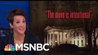 Donald Trump Disregard For Congressional Oversight Untenable In America | Rachel Maddow | MSNBC
