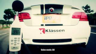 Preview - ESS supercharger 616 HP BMW M3 with iPE F1 version exhaust system, outdoor revving 126db!