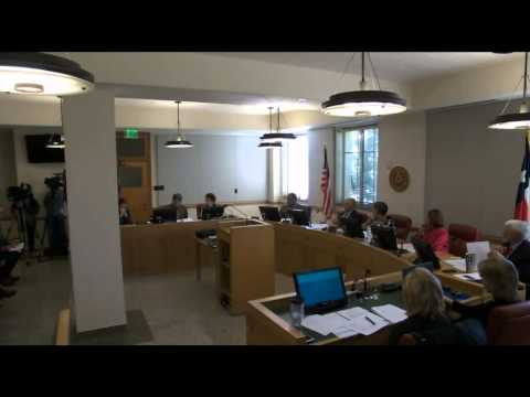 Potter County Commissioners' Court Meeting November 9th, 2015