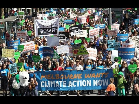 300K March For Climate Change, Media Yawns