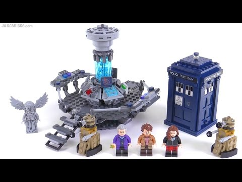 LEGO Doctor Who set review! 21304