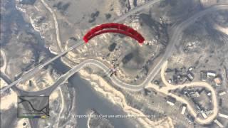 Grand Theft Auto V: GTA 5 / Saut en parachute peu originale ^^