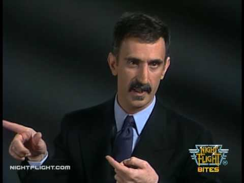 Frank Zappa Interview on Night Flight - On Music Videos
