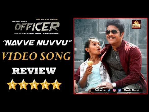 Officer Movie Navve Nuvvu Video Song Review | Nagarjuna | RGV | Tollywood Updates | Movie Mahal