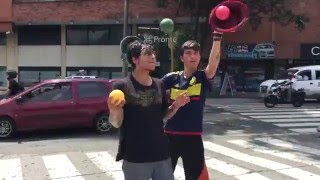 Amazing Street Jugglers Cali Colombia Awesome Street performers with skills