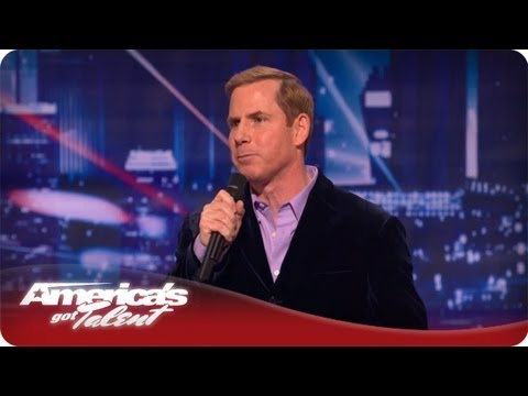 Stand-up Comedian Tom Cotter - America's Got Talent Season 7 Audition