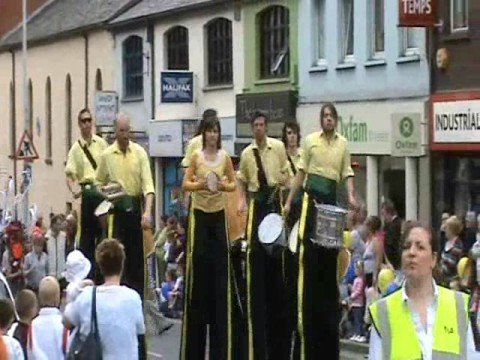 This Is Part 1, Of The Lord Mayor's Parade In Lisburn County Antrim Northern Ireland, On 10th May 2008, As The Parade Makes Its Way Through The City Centre. ...