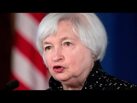 Janet Yellen holds news conference in Washington